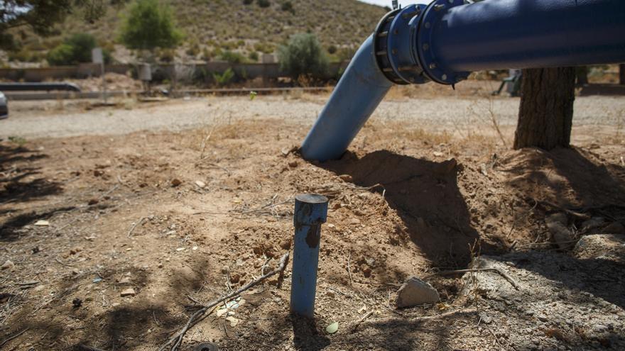 Mala gestión del agua en Tobarra, Albacete