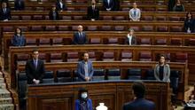 Imagen de archivo de la bancada del Gobierno en el Congreso de los Diputados.