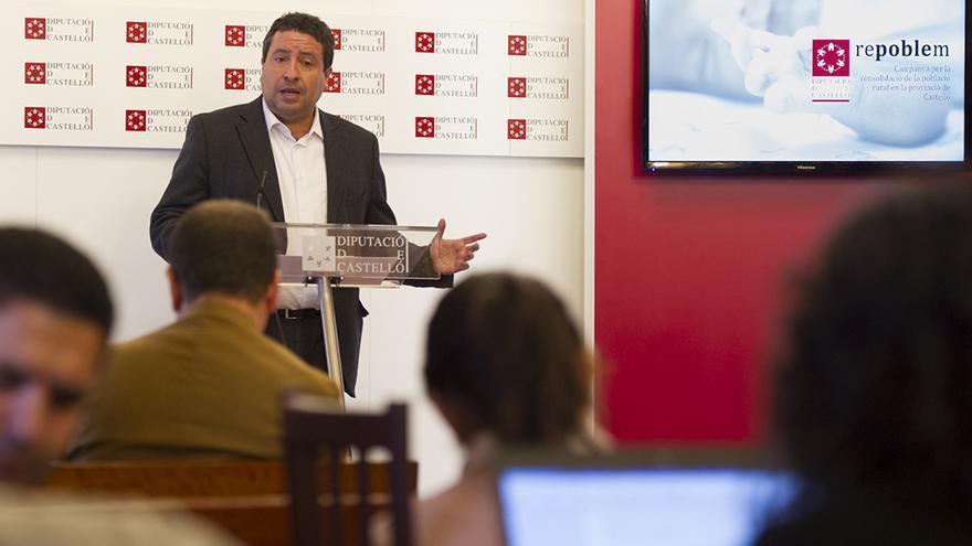 El presidente de la Diputación de Castellón, Javier Moliner