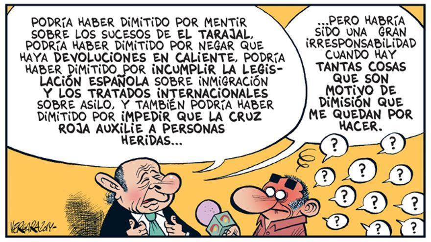 Fernández Díaz no dimite