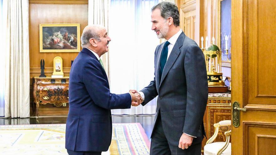 José María Mazón se reúne con el rey Felipe VI durante la ronda de consultas