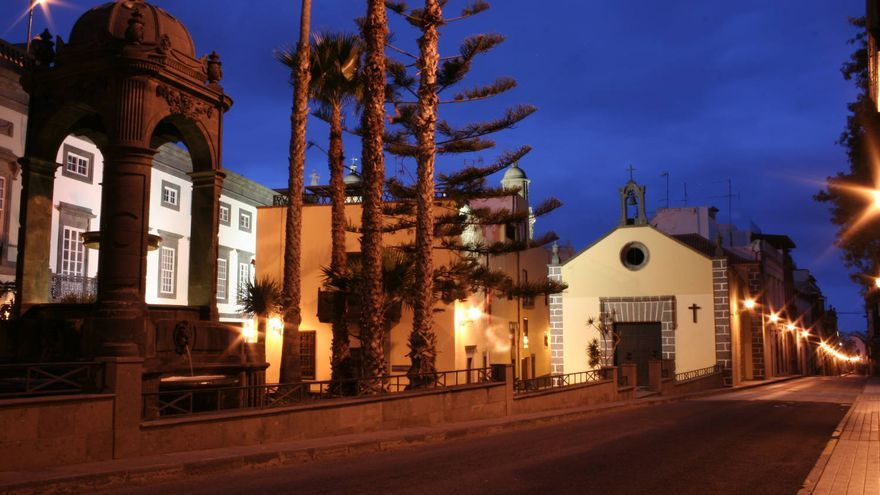 Plazoleta del Espíritu Santo, una de las más bonitas de Las Palmas de Gran Canaria. VIAJAR AHORA