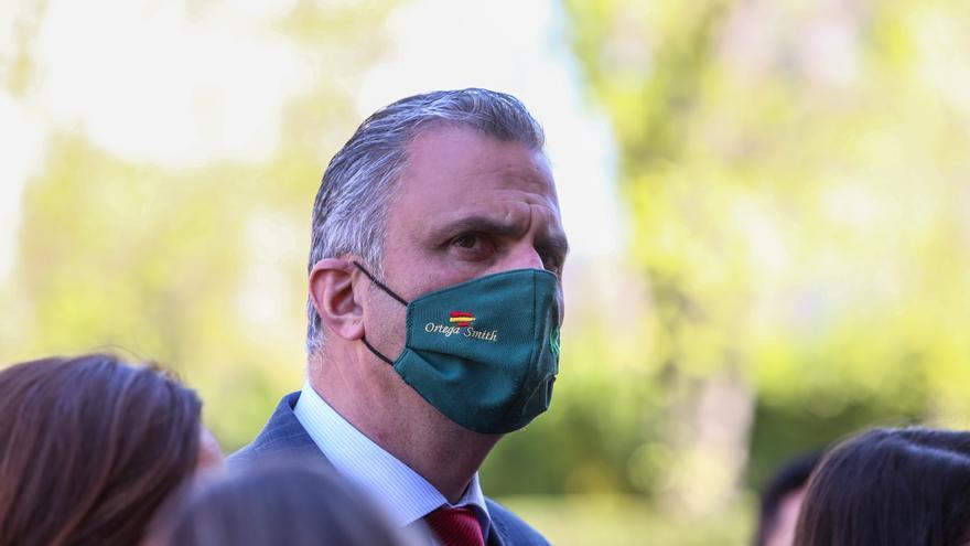 El secretario general del partido, Javier Ortega Smith, en una foto de archivo
