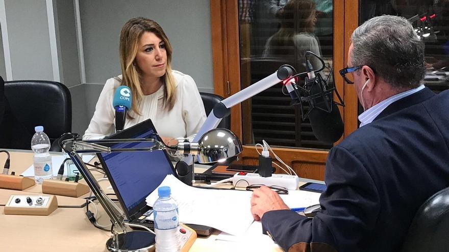 """Susana Díaz acusa a PP-A de """"campaña sucia"""" con la Faffe y recalca que no se ha encontrado una """"mancha"""" a su Gobierno"""