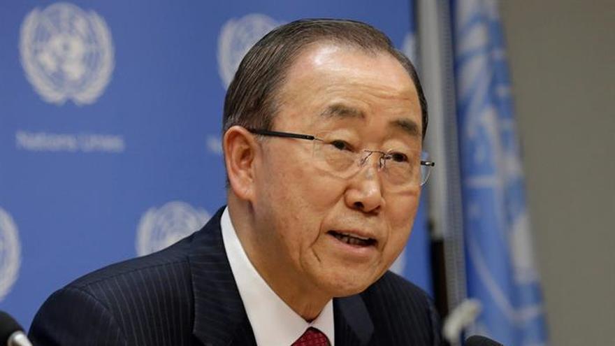 """Ban Ki-moon, """"horrorizado"""" y """"frustrado"""" por violencia en Sudán del Sur"""