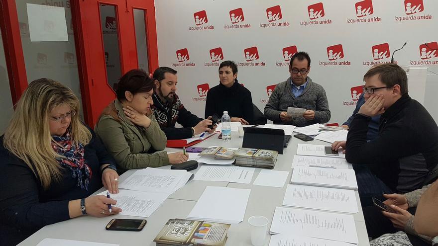 Reunión de la Colegiada de IU Castilla-La Mancha