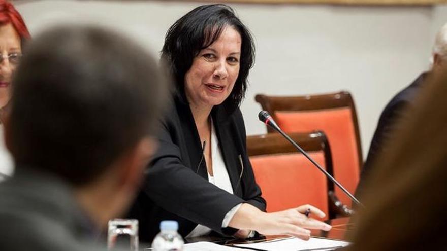 Soledad Monzón, consejera canaria de Educación