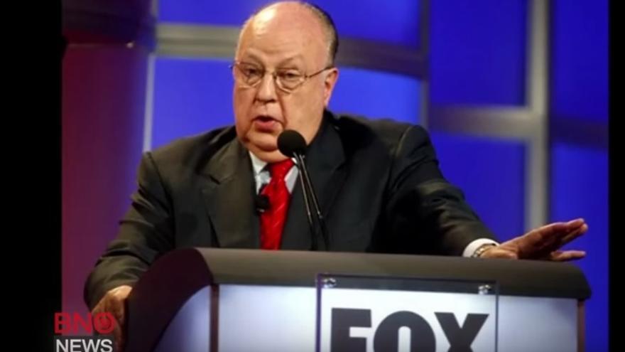 El director de Fox News, Roger Alies // Fox News