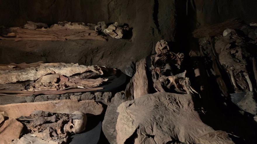 El Museo Canario ahonda en las prácticas funerarias de los aborígenes durante la Visita Nocturna del 30 de octubre