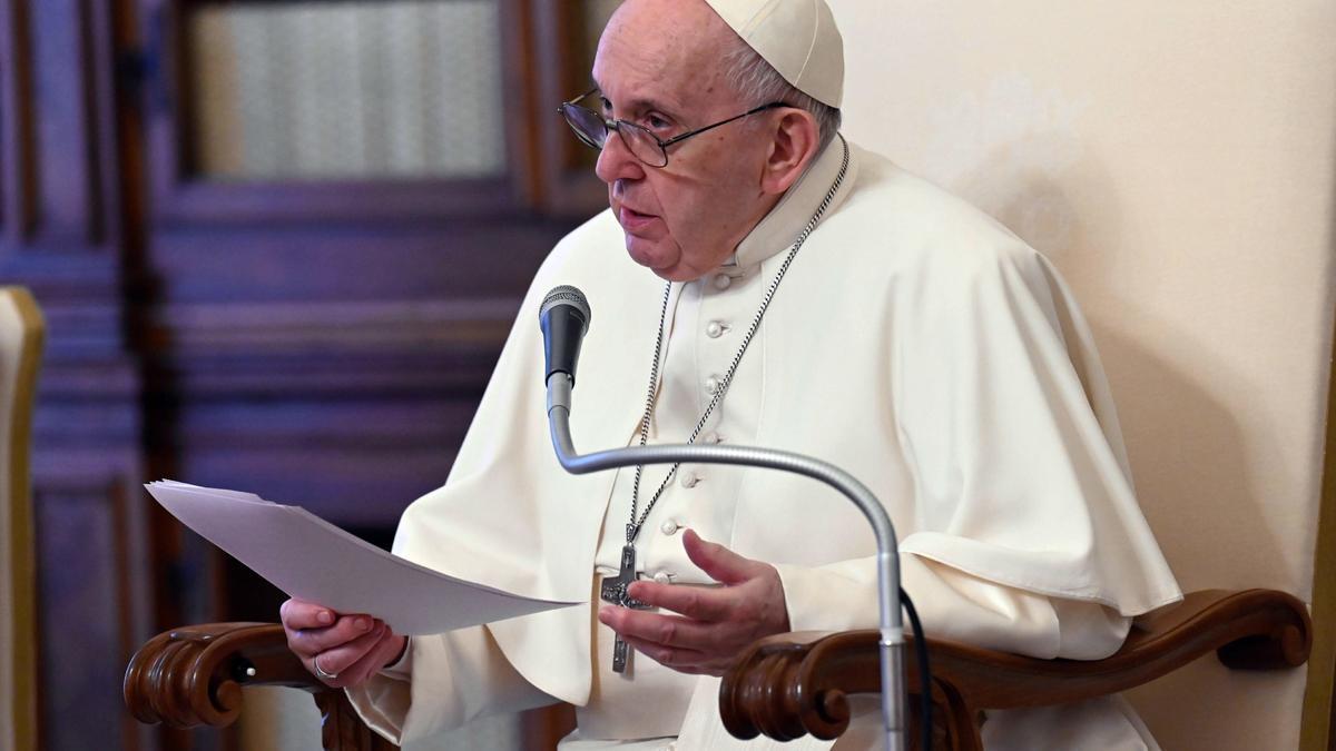 El papa Francisco, el miércoles en el Vaticano. EFE/EPA/VATICAN MEDIA HANDOUT