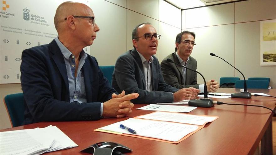 El director general de Salud Pública del Servicio Canario de la Salud (SCS), Ricardo Redondas, ha presentado este miércoles el Plan de Erradicación de la Tuberculosis en Canarias.