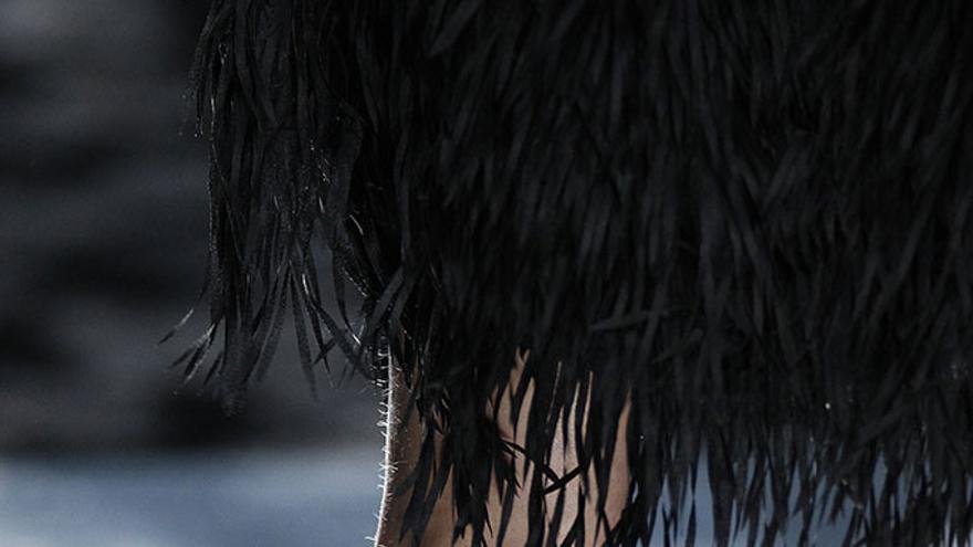 Zapatos de Espinela en la Fashion Week de Madrid.