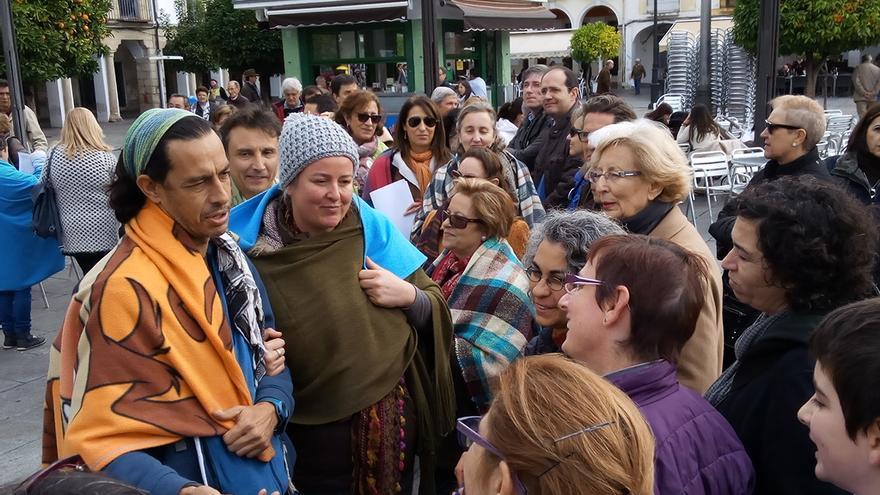 El peregrinaje de María y José en Belén, para ejemplificar el desamparo de los refugiados / JCD