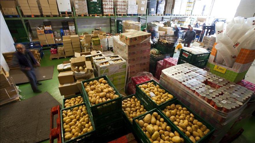 El Fondo de Garantía Agraria distribuye más un millón de kilos de alimentos entre personas en situación vulnerable de la región