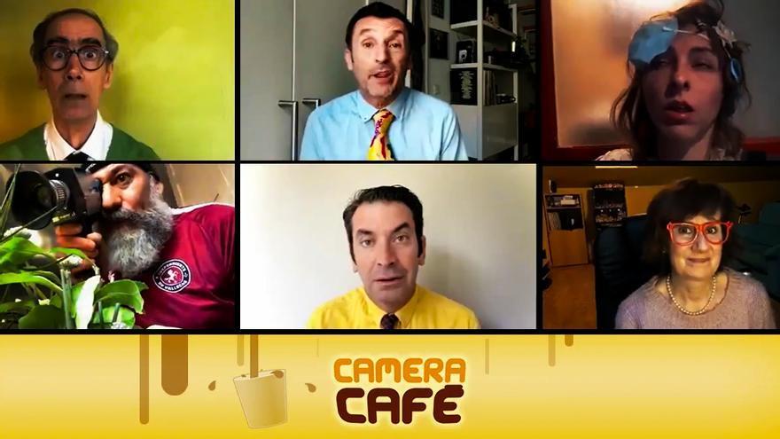 'Camera Café' improvisa un revival con todo el reparto