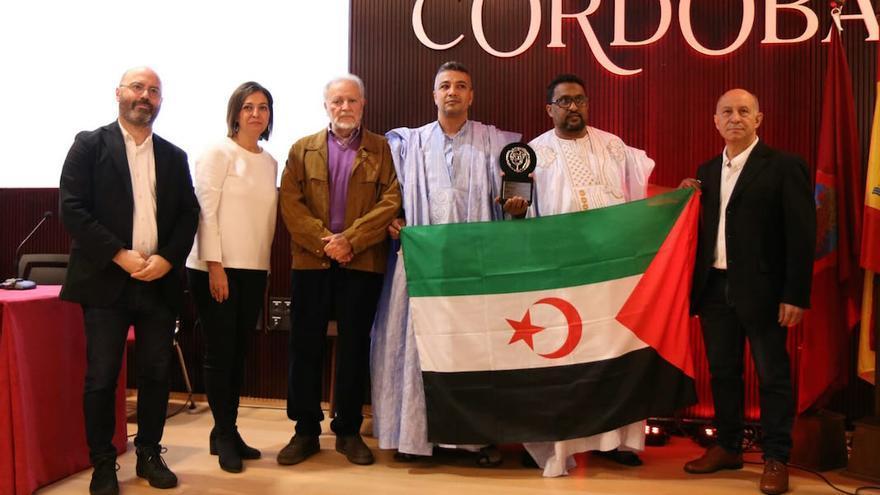 Equipe Media recogiendo el premio Premio Julio Anguita Parrado  RAFAEL MELLADO
