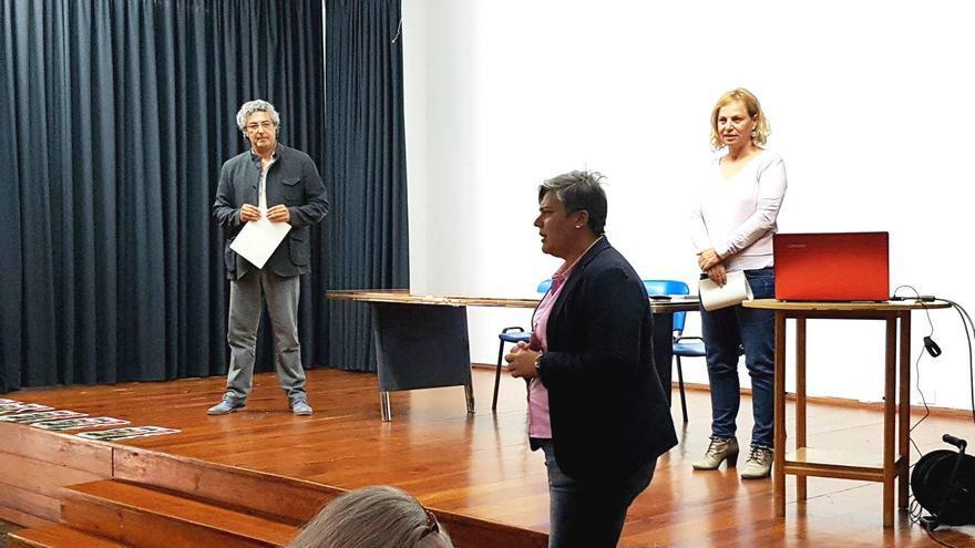 Noelia García en la presentación del programa 'Los Llanos participa'.