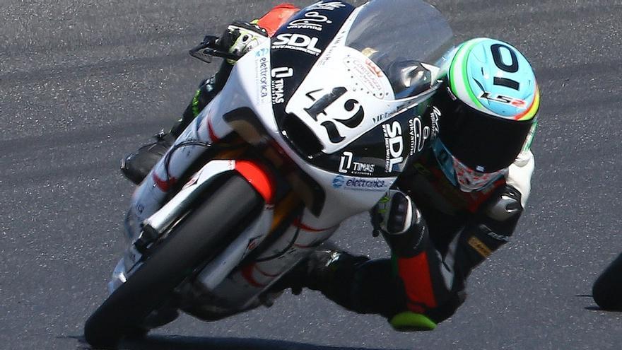 Marcos Ramírez,el piloto gaditano de Moto3