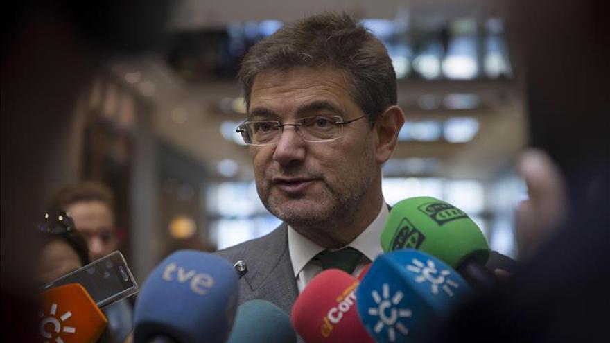 Catalá plantea regular mejor la vuelta de jueces tras pasar por la política