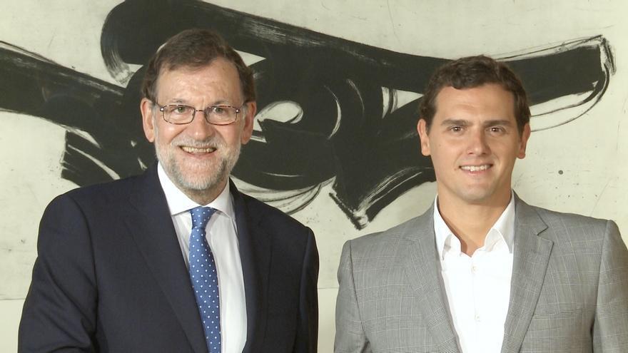 """Rajoy agradece a Rivera su """"voluntad constructiva"""" y le enviará mañana un documento para empezar a dialogar propuestas"""