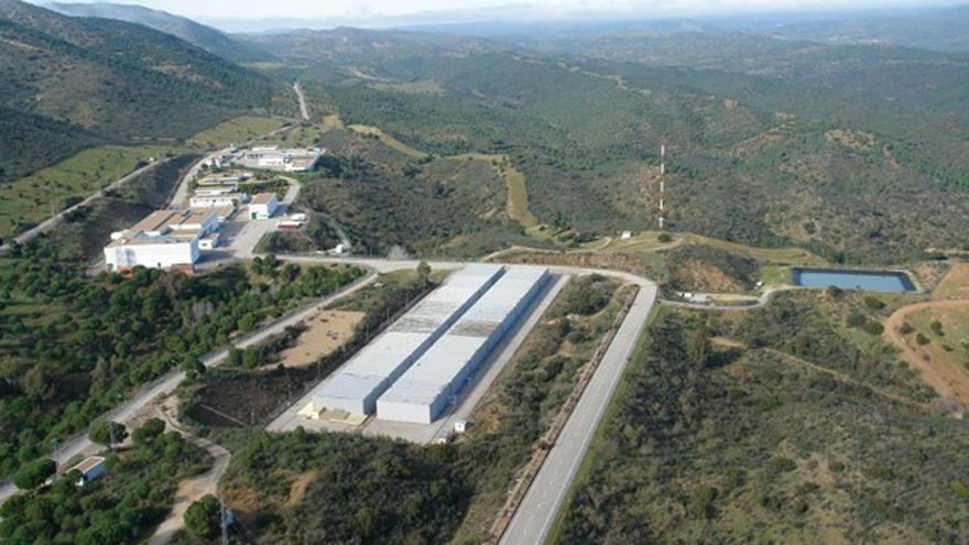 Vista aérea de El Cabril.