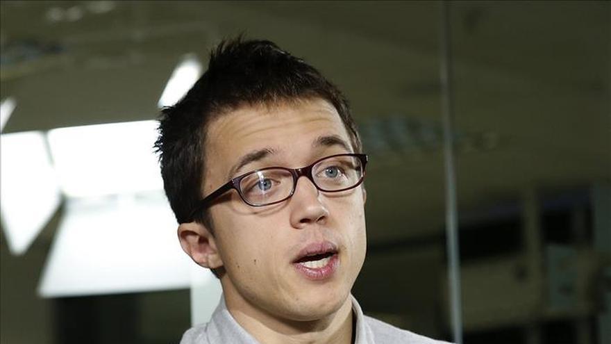 Errejón reprocha al PP el uso electoral de las instituciones en el caso Rosell