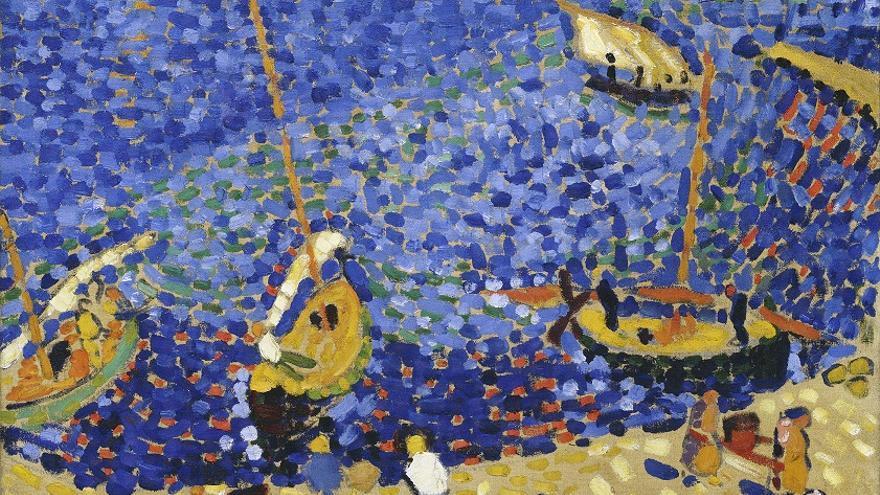 André Derain, Bateaux à Collioure, 1905 © André Derain, VEGAP, Madrid, 2016
