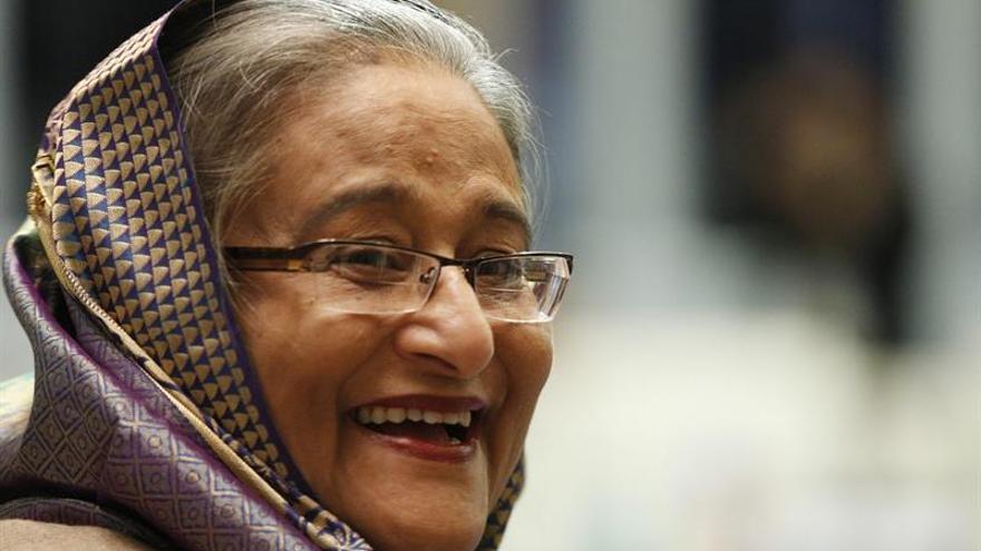 Nueve arrestados por sabotear un avión para matar a la primera ministra bangladesí