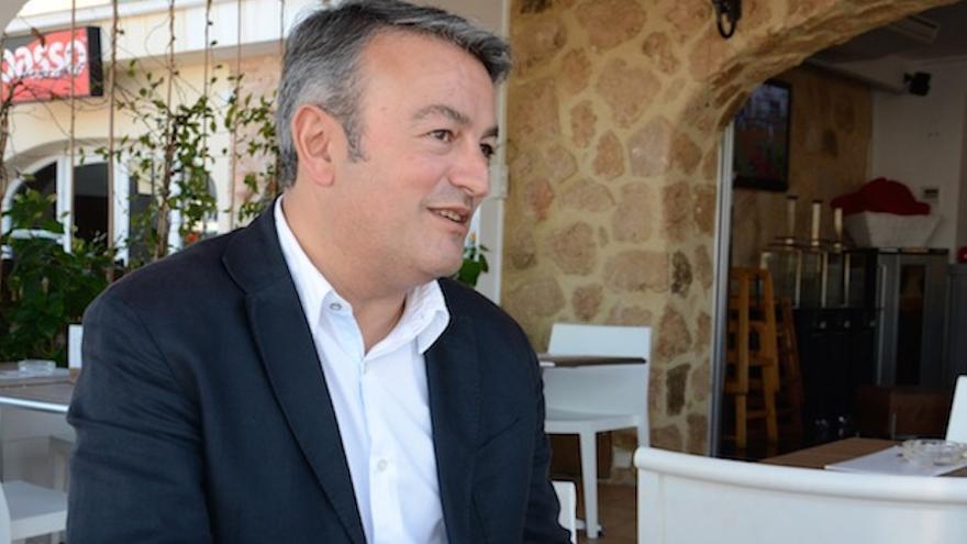 José Chulvi, candidato del PSPV en Xàbia