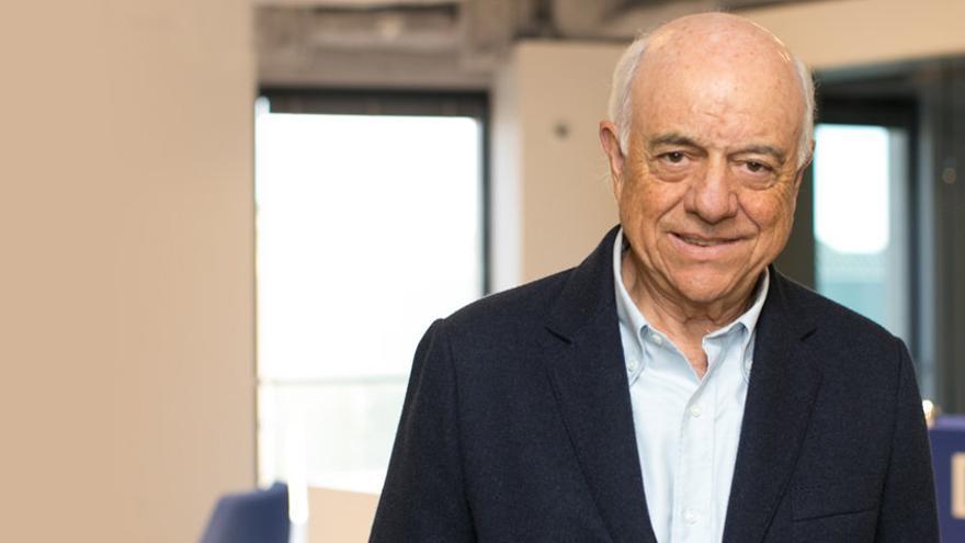 Francisco González, presidente de BBVA, esta semana en la sede de Sillicon Valley.