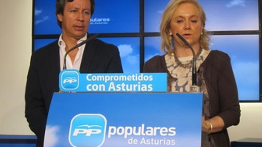 Carlos Floriano y Mercedes Fernández.