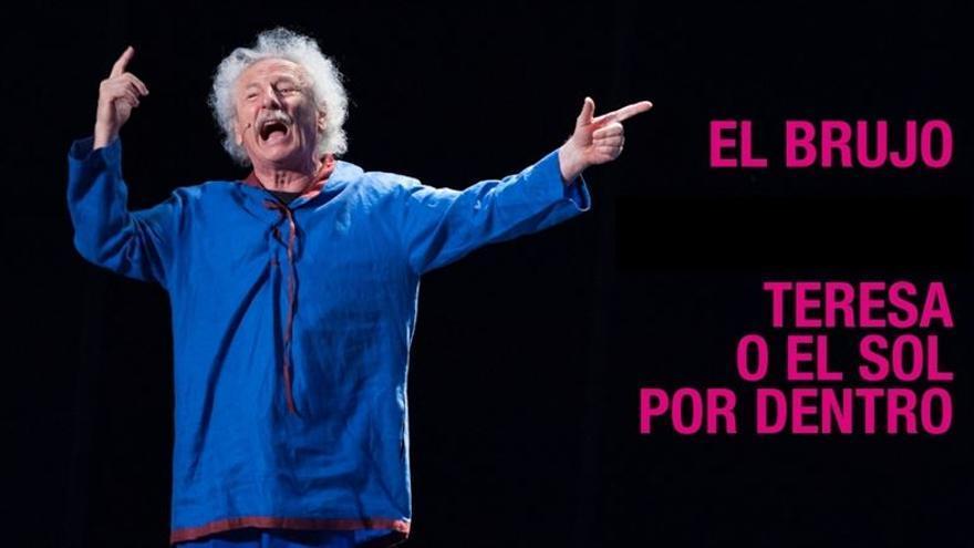 """""""El Brujo"""" representando una obra de teatro"""