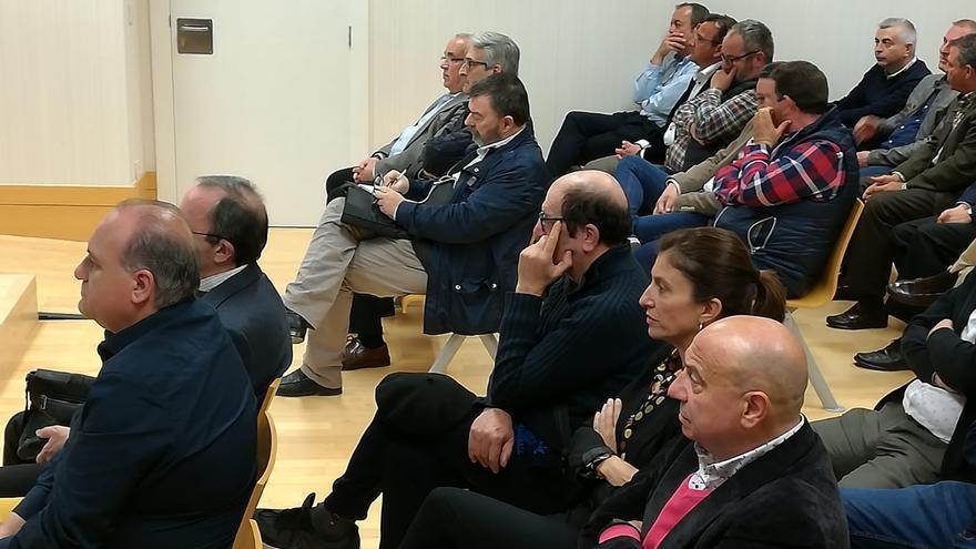 Un instante del juicio que se desarrolla en la Audiencia de Alicante