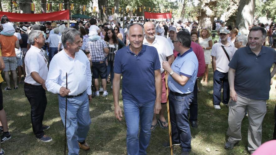 El Día de Soba congrega a cientos de personas en el Monte de San Pedro