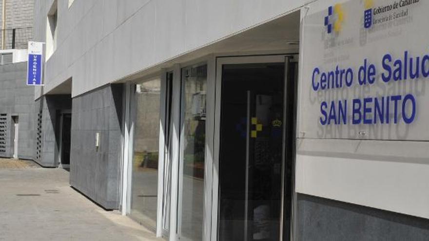 Imagen de archivo del centro de salud de San Benito, en La Laguna