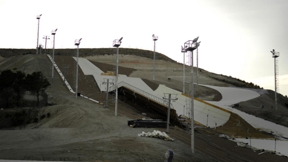 Pista de esquí seco en Villavieja del Cerro desmantelada tras varias sentencias que la declararon ilegal