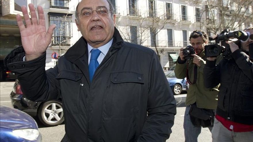 El antiguo propietario de Viajes Marsans Gerardo Díaz Ferrán, a su salida de la Audiencia Nacional. / Efe