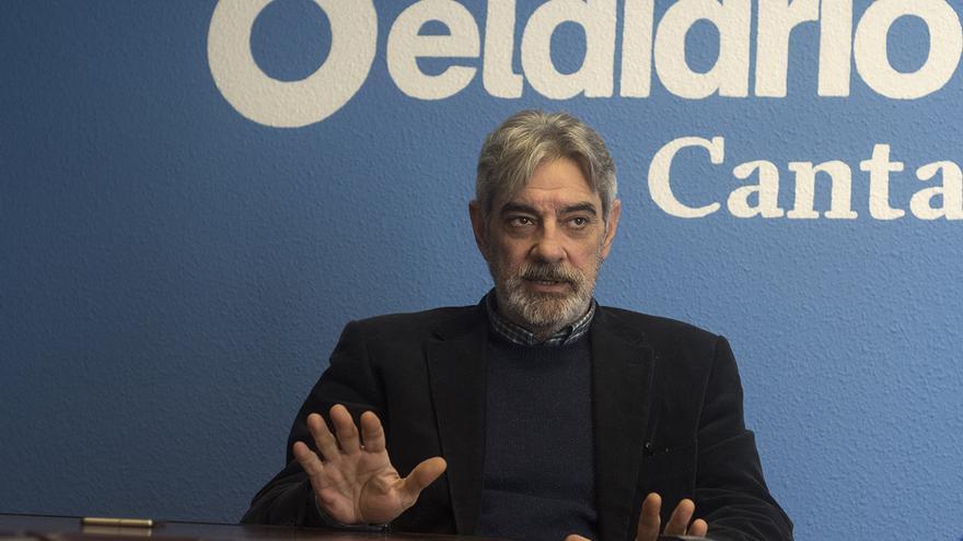 Eduardo Van den Eynde, portavoz del grupo parlamentario popular. | Fotos: JOAQUÍN GÓMEZ SASTRE