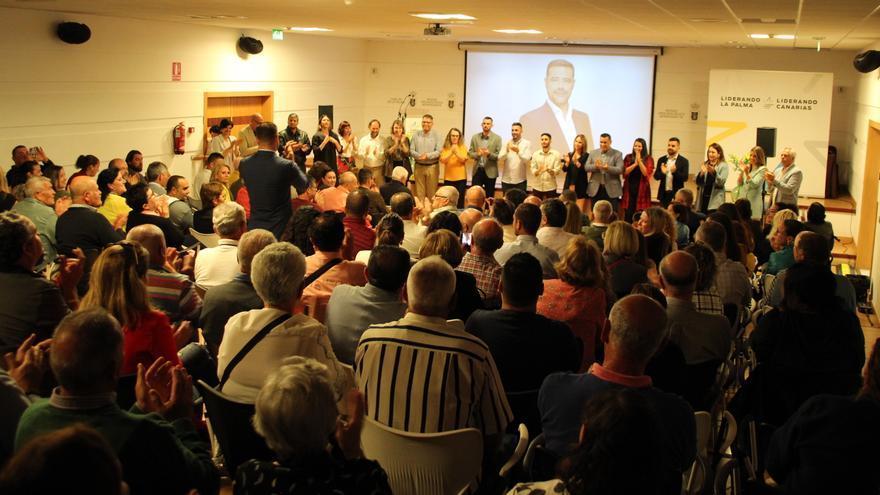 Acto de presentación de CC a la Alcaldía de Los Llanos.