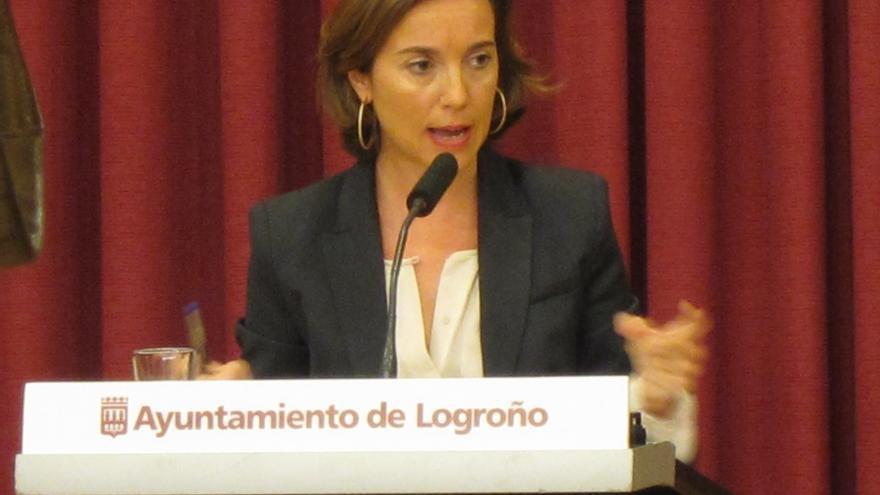 Alcaldesa de Logroño dice que viajó a Colombia fue en representación de la FEMP