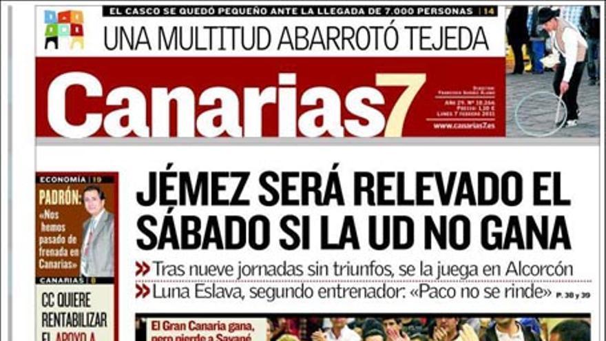 De las portadas del día (07/02/2011) #2