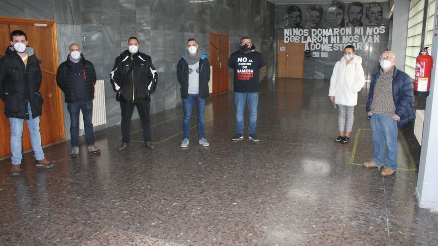 Los trabajadores de Gamesa en Cuenca anuncian una movilización el 5 de febrero tras el anuncio de cierre de la planta