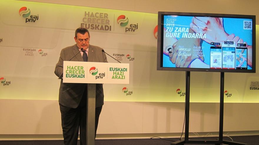 """Mediavilla (PNV): """"Euskadi tendrá una consulta en relación a su futuro jurídico-político"""""""