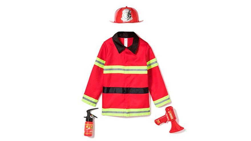 Disfraz de bombero.