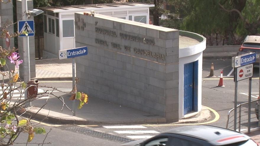Exteriores del Hospital Nuestra Señora de Candelaria.