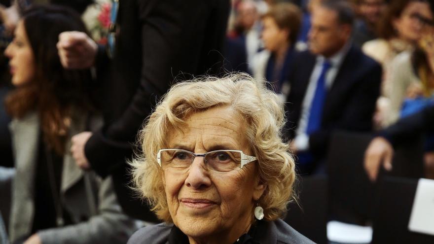 Carmena mantiene el alquiler a Puigdemont y cree que el PP se equivoca al apelar a la Constitución