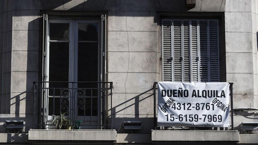 Se estima que entre un 35% y un 40% de la población de la ciudad de Buenos Aires alquila