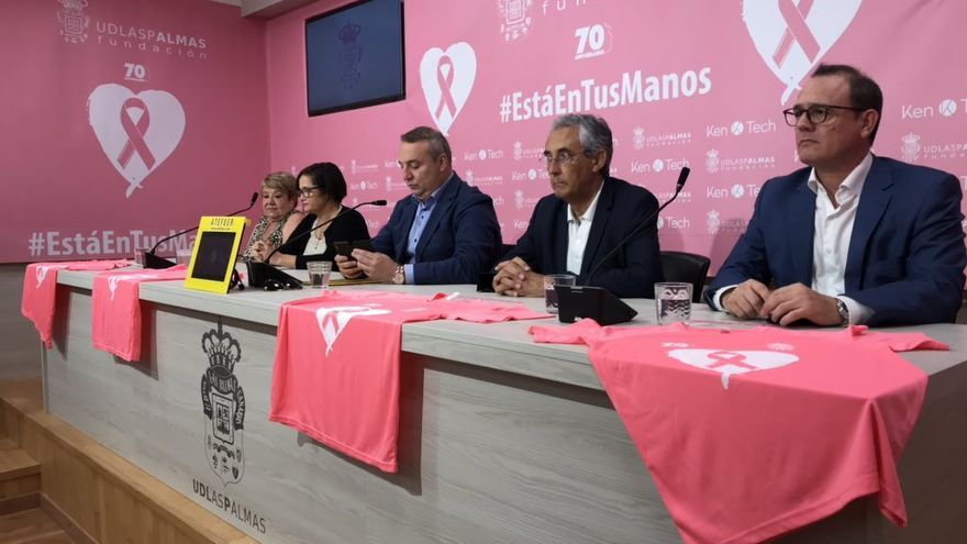 Miguel Ángel Ramírez, en la presentación de la campaña #EstáEnTusManos