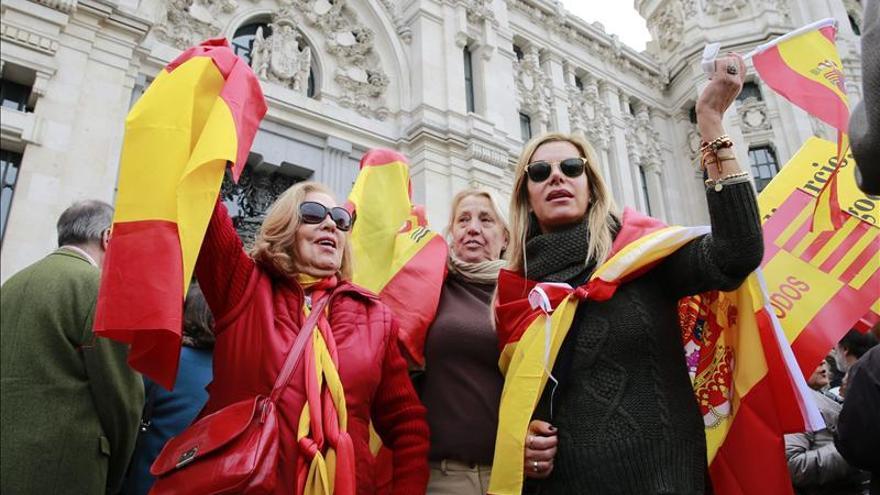 """'Libres e iguales' pide en Barcelona que el Estado defienda la unidad """"con firmeza"""""""