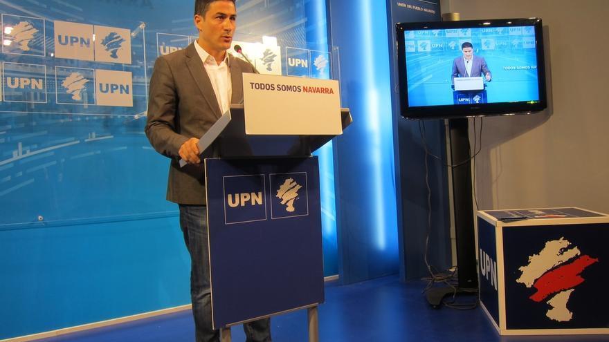 """UPN acusa a Geroa Bai de """"fariseísmo político"""" y de """"inquina contra Javier Esparza"""""""